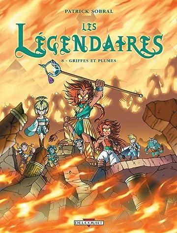 Les Légendaires Tome 8: Griffes et plumes