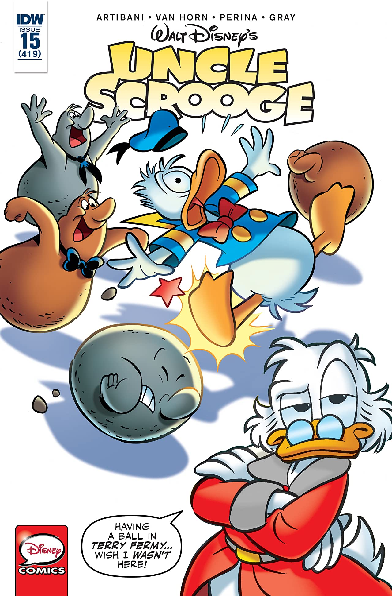 Uncle Scrooge #15