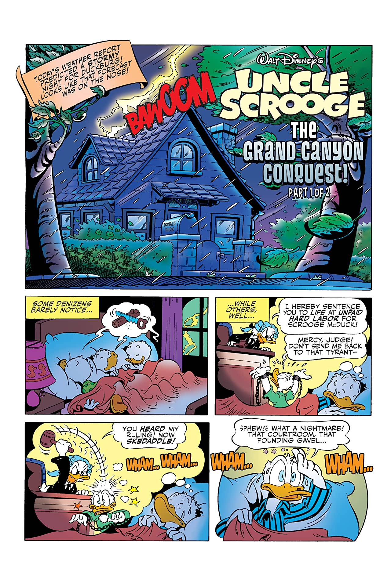 Uncle Scrooge Vol. 2: The Grand Canyon Conquest