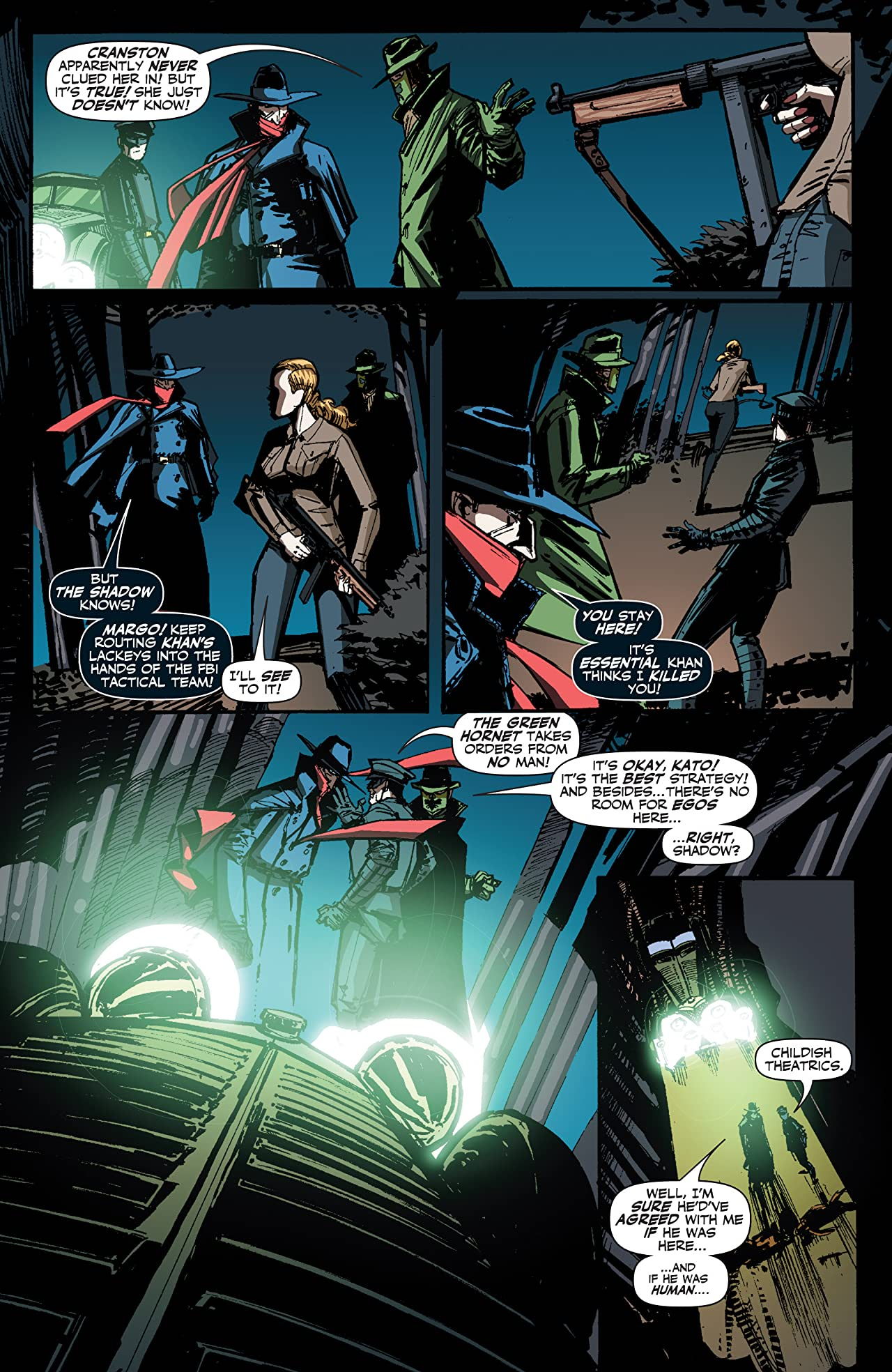 The Shadow/Green Hornet: Dark Nights #3 (of 5): Digital Exclusive Edition