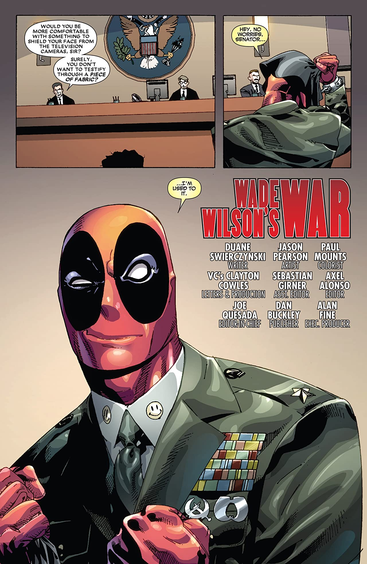 Deadpool: Wade Wilson's War #1 (of 4)