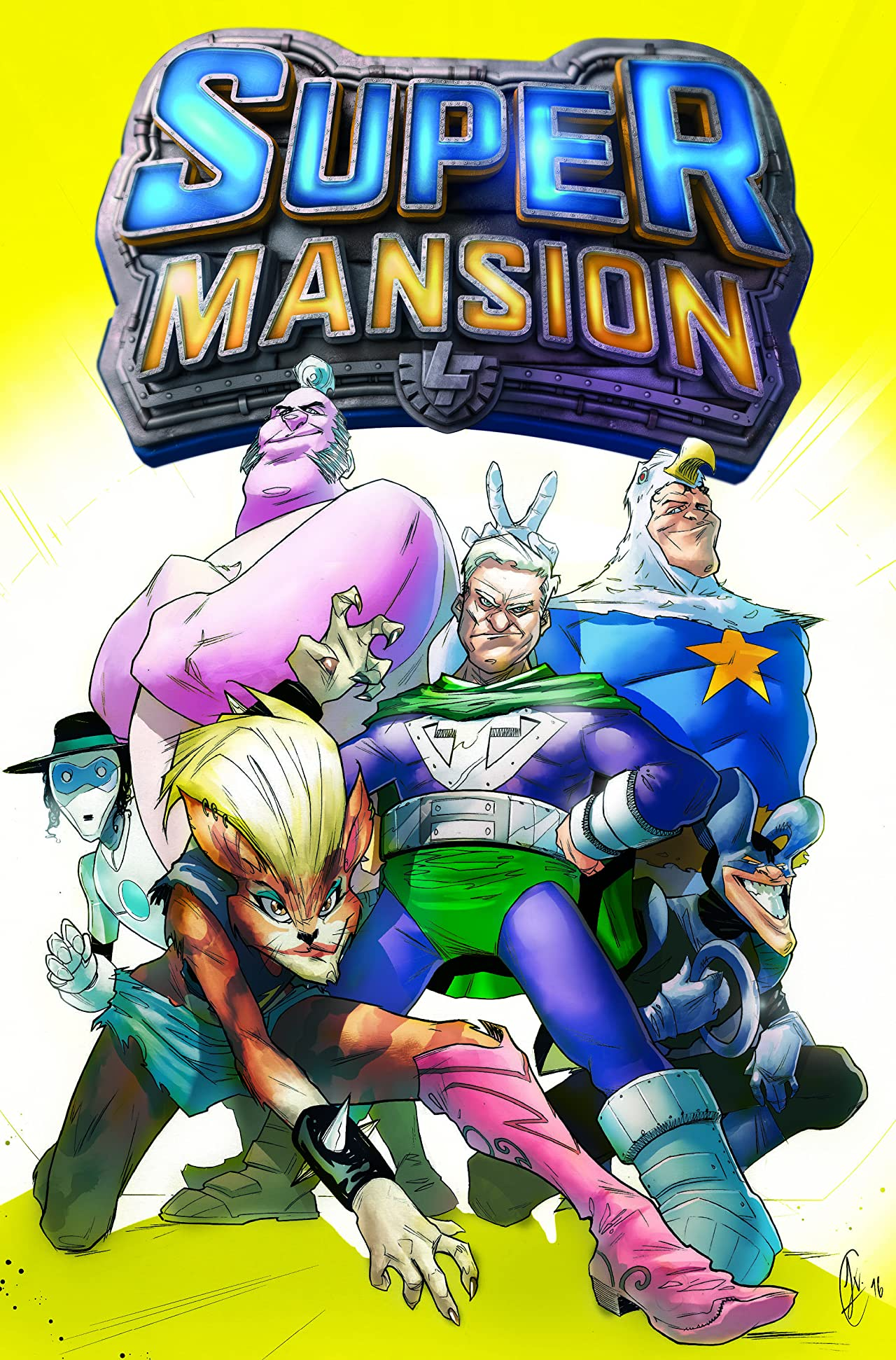 SuperMansion #1