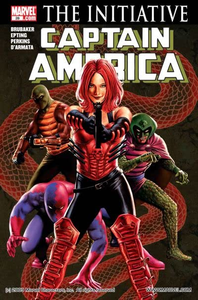 Captain America (2004-2011) No.28