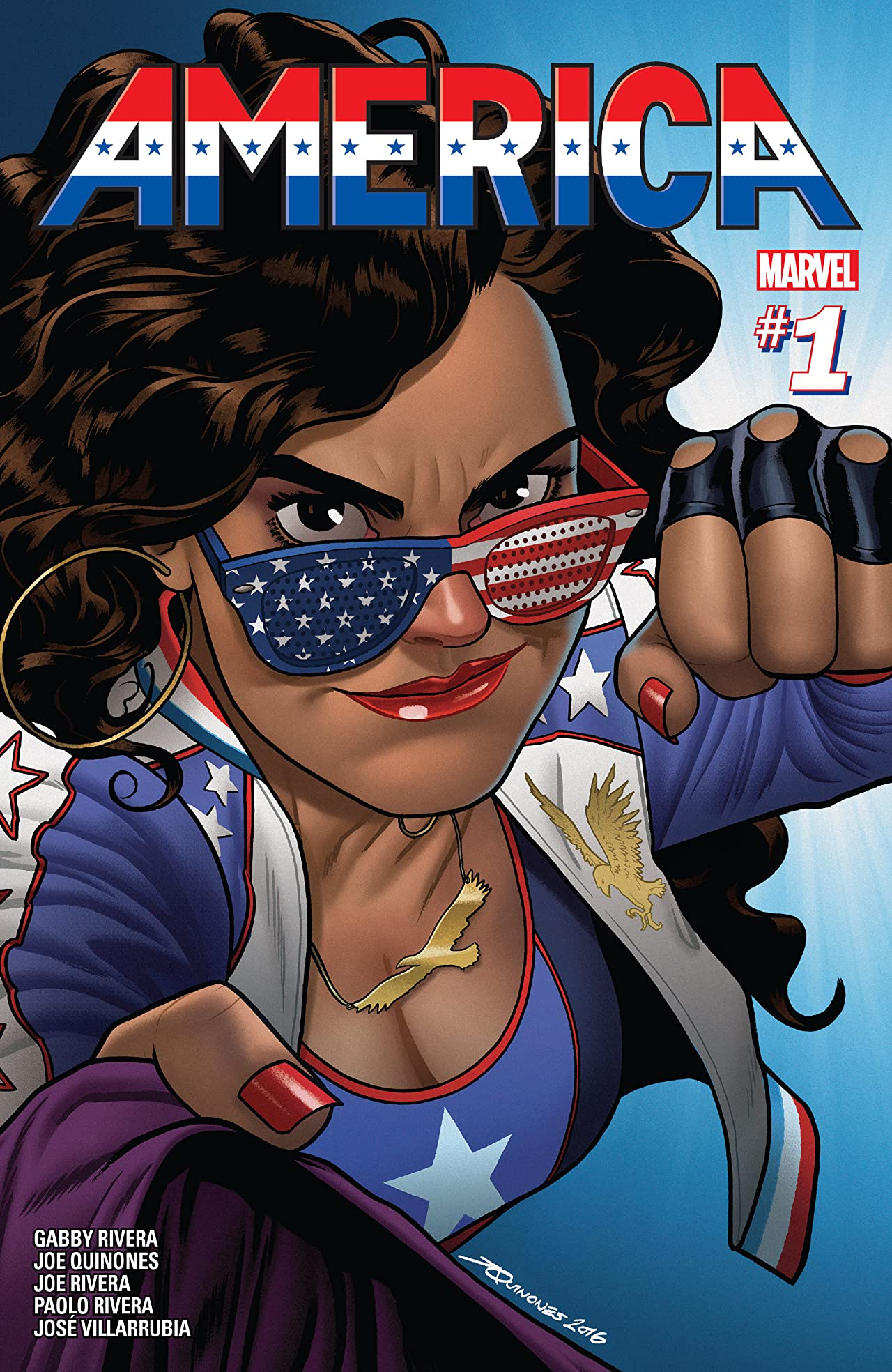 Image result for america chavez #1