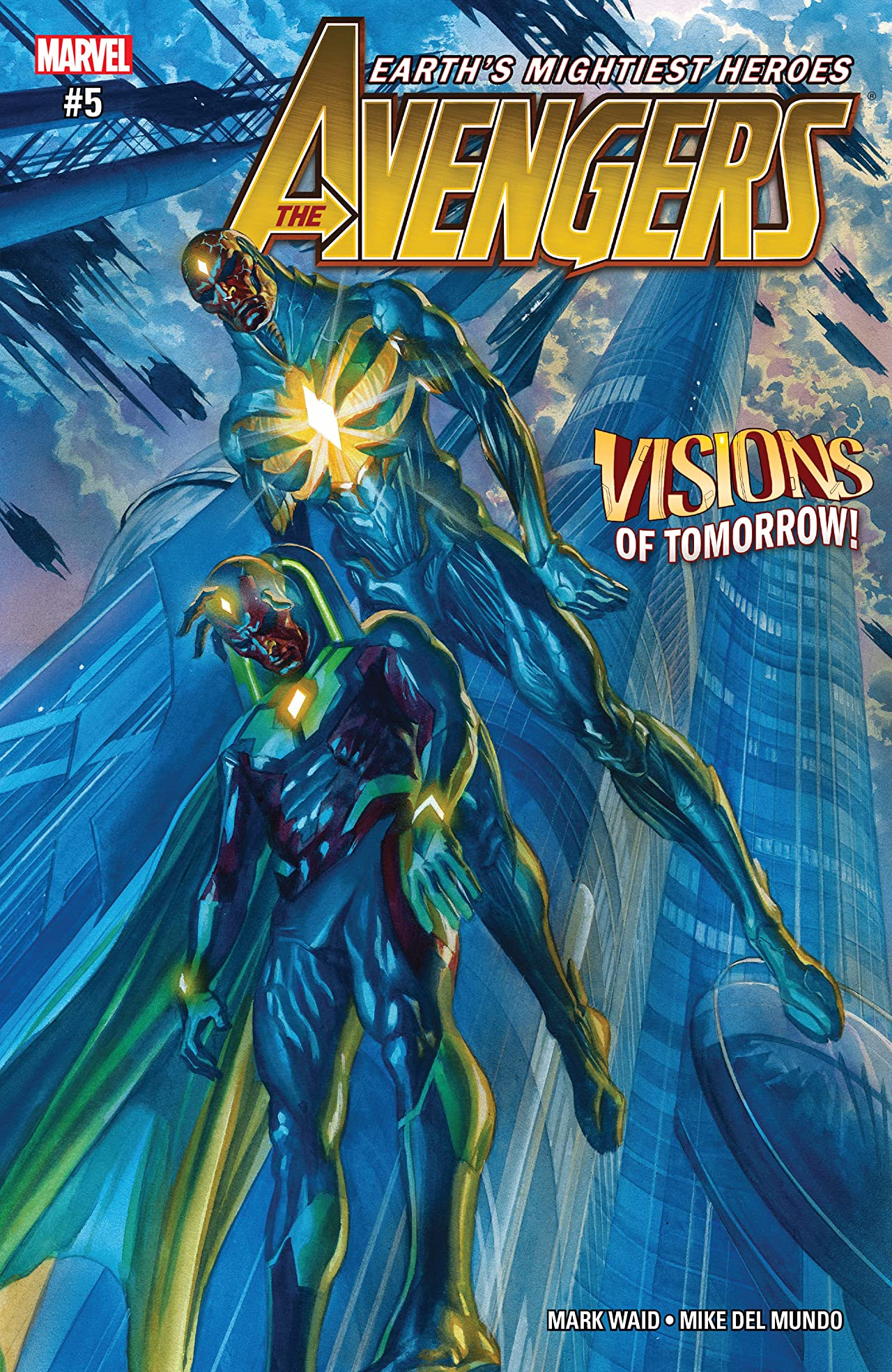Avengers (2016-2018) #5