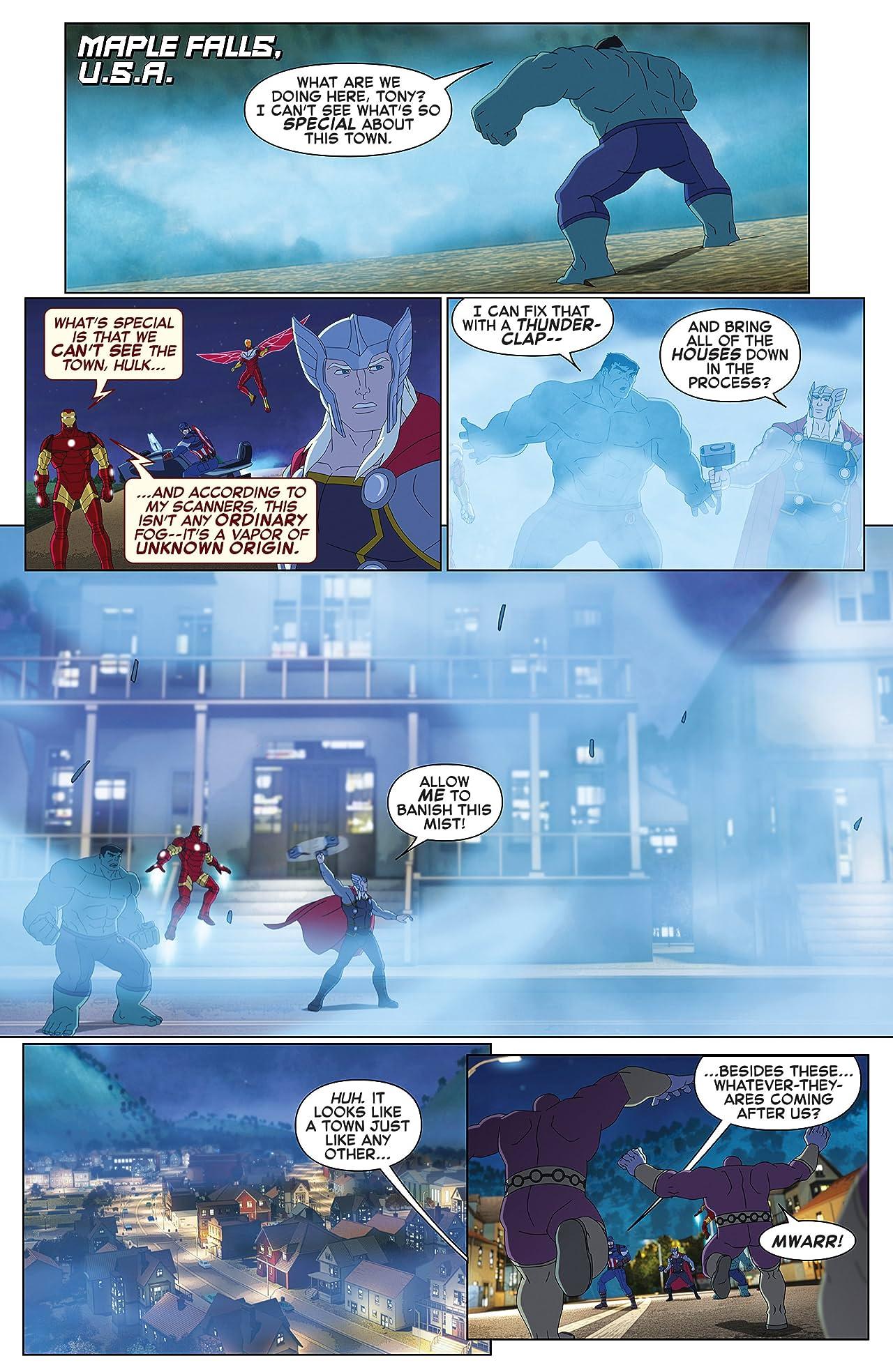 Marvel Universe Avengers: Ultron Revolution (2016-2017) #9
