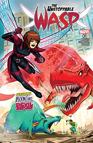 The Unstoppable Wasp (2017-) #3
