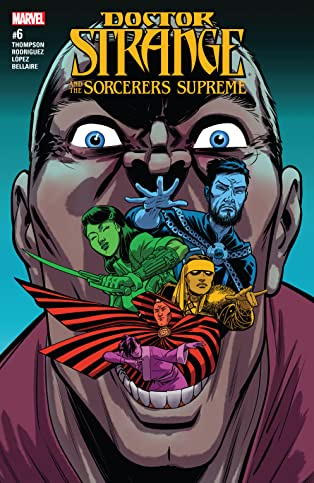 Doctor Strange and the Sorcerers Supreme (2016-) #6