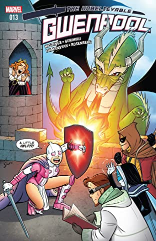 Gwenpool, The Unbelievable (2016-2018) #13
