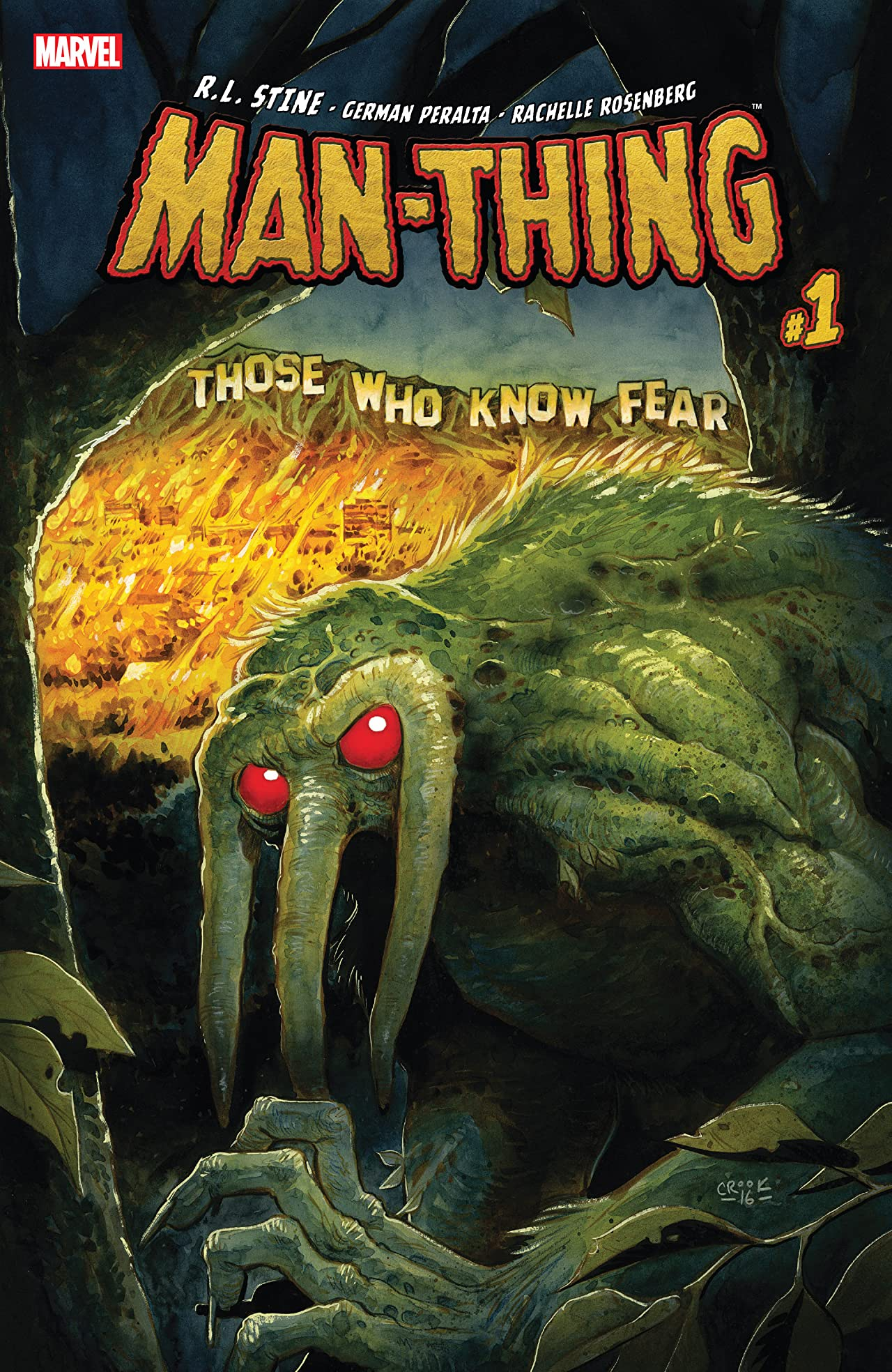 Man-Thing (2017) #1 (of 5)