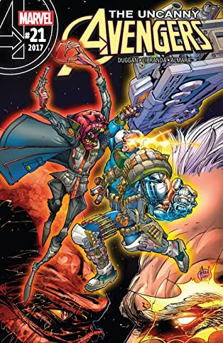 Uncanny Avengers (2015-2017) #21