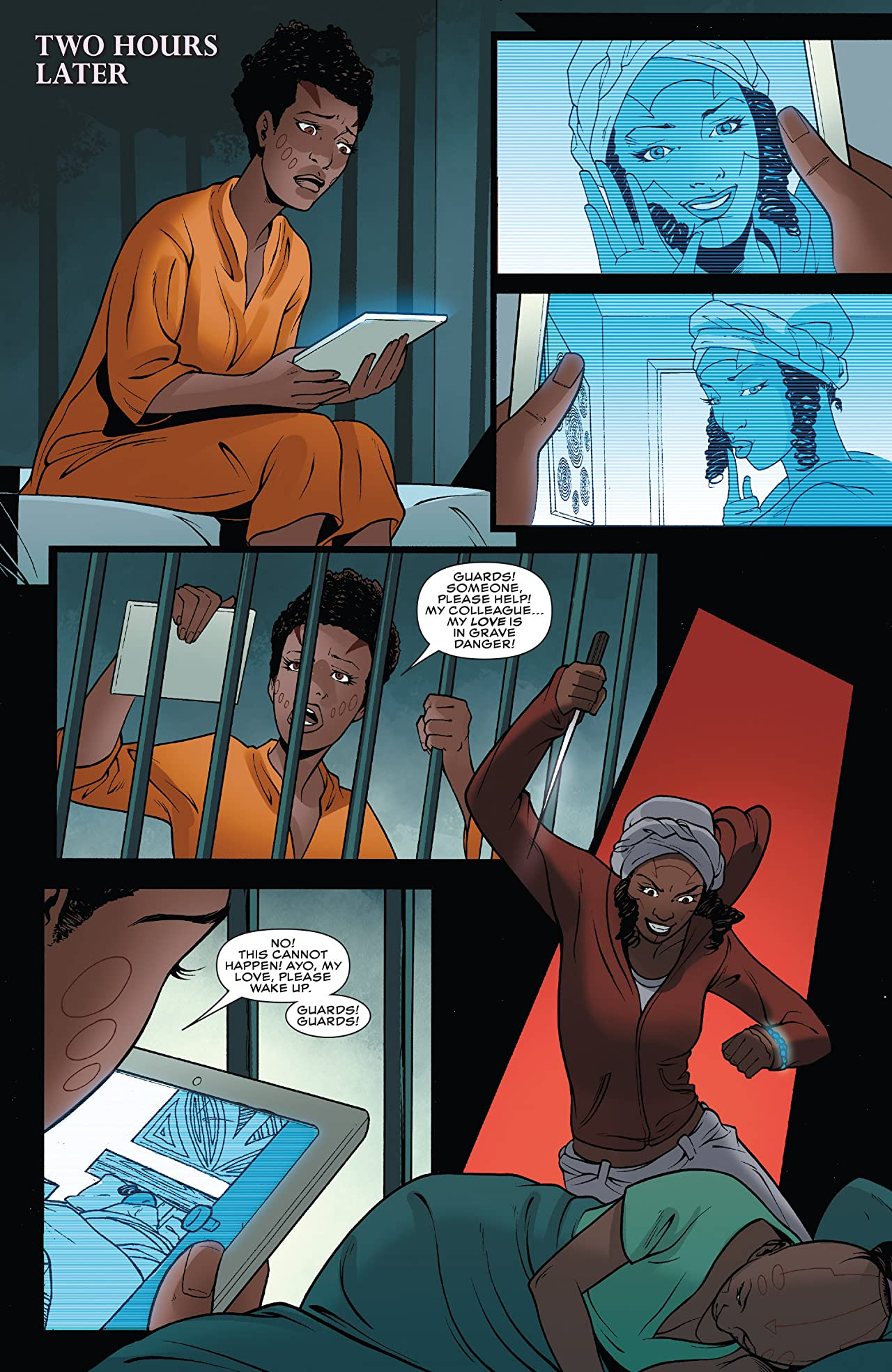 Black Panther: World of Wakanda (2016-2017) #5