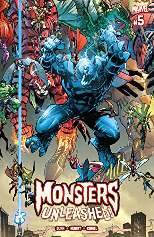 Monsters Unleashed (2017) No.5 (sur 5)