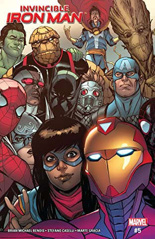 Invincible Iron Man (2016-) #5