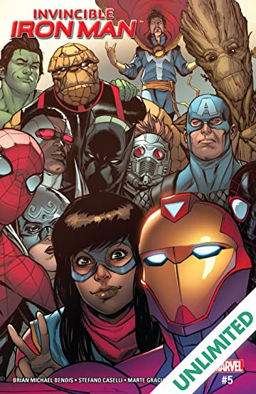 Invincible Iron Man (2016-2018) #5