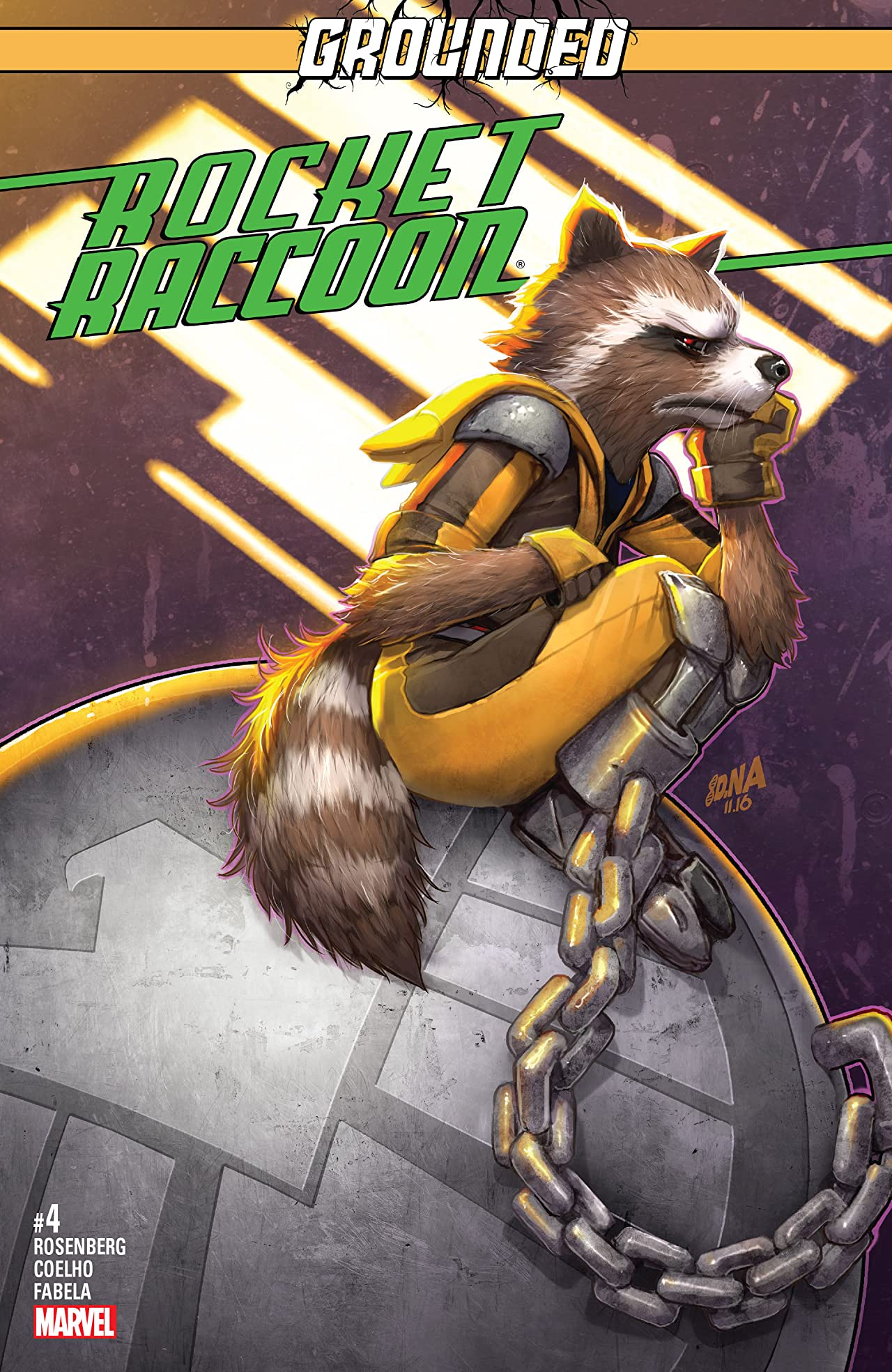 Rocket Raccoon (2016-2017) #4