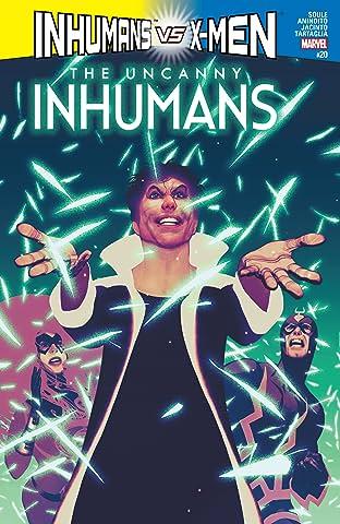 Uncanny Inhumans (2015-2017) #20
