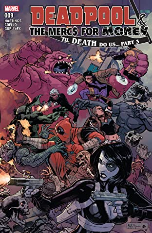 Deadpool & The Mercs For Money (2016-) #9