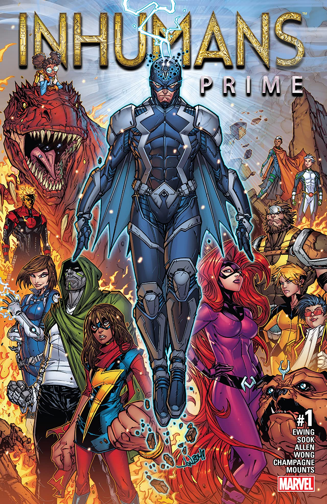 Inhumans Prime (2017) #1
