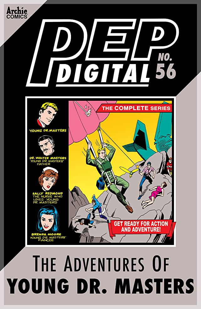 PEP Digital #56: The Adventures of Young Dr. Masters The Complete Series