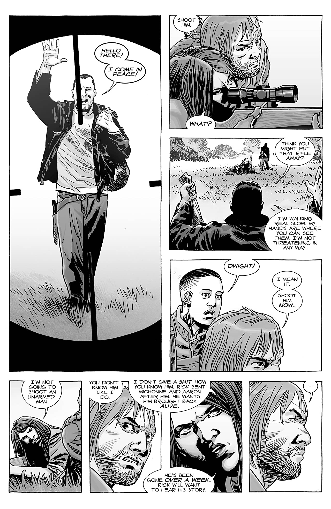 Image result for THE WALKING DEAD VOLUME 27 THE WHISPERER WAR