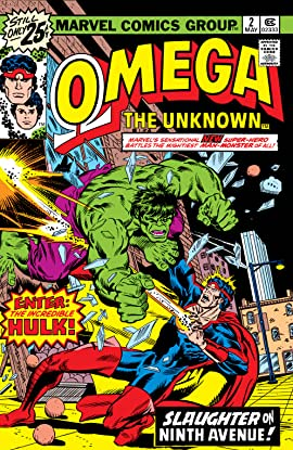 Omega: The Unknown (1976-1977) #2