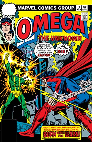 Omega: The Unknown (1976-1977) No.3