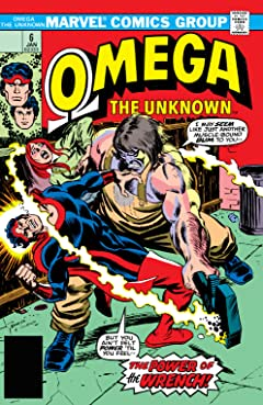 Omega: The Unknown (1976-1977) #6