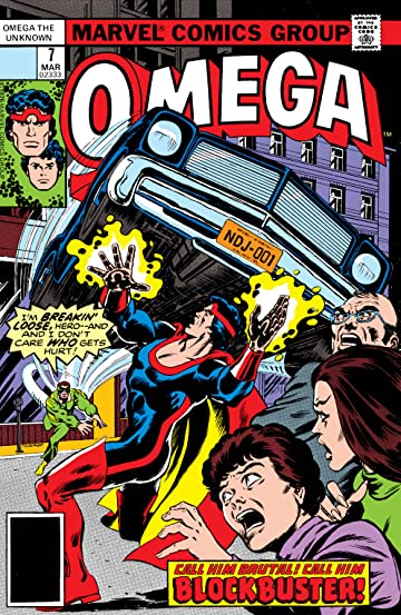 Omega: The Unknown (1976-1977) #7