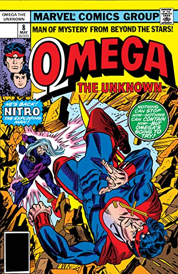 Omega: The Unknown (1976-1977) #8
