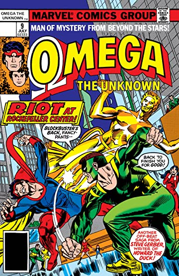 Omega: The Unknown (1976-1977) #9
