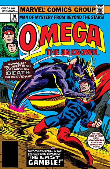 Omega: The Unknown (1976-1977) #10