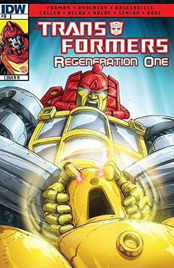 Transformers: Regeneration One #0