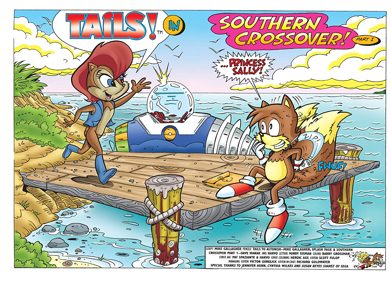 Sonic the Hedgehog's Buddy Tails #1