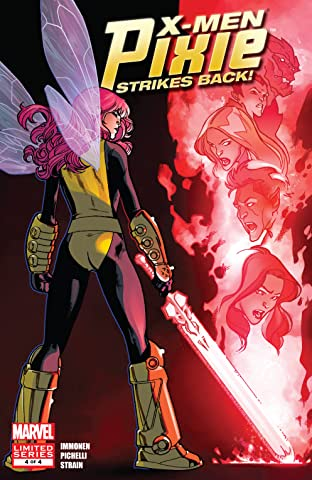 X-Men: Pixie Strikes Back (2010) #4 (of 4)