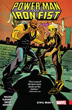 Power Man and Iron Fist Vol. 2: Civil War II