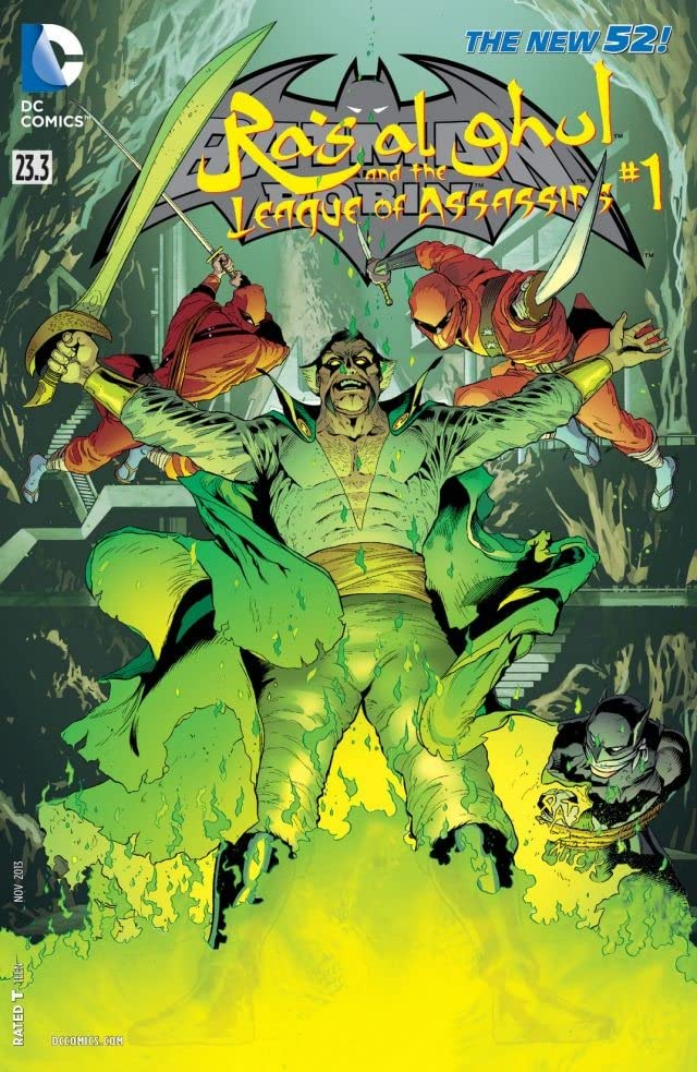Batman and Robin (2011-2015) #23.3: Featuring Ra's al Ghul & League of Assassins