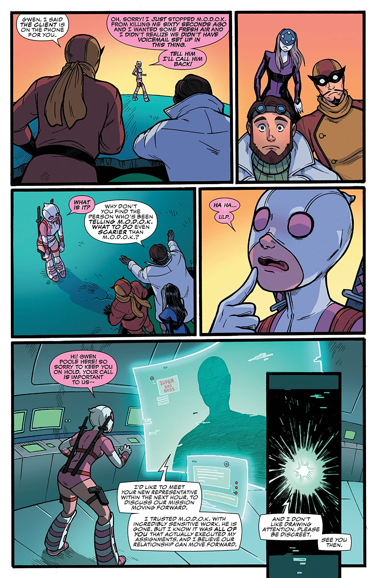 Gwenpool, The Unbelievable Vol. 2: Head of M.O.D.O.K.