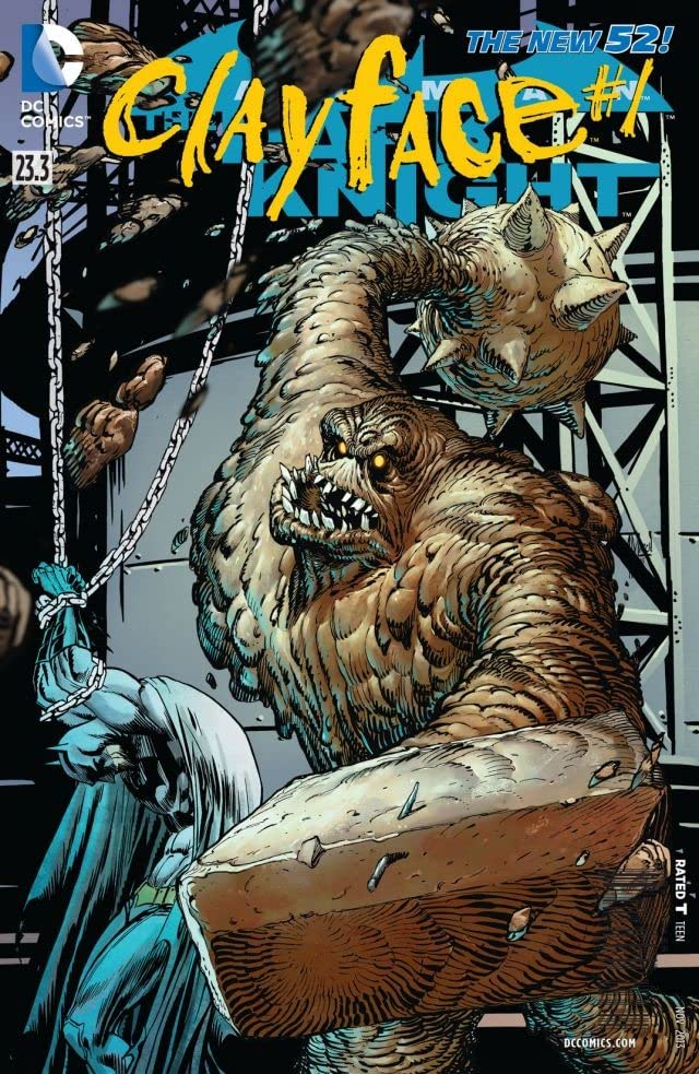 Batman: The Dark Knight (2011-2014) #23.3: Featuring Clayface