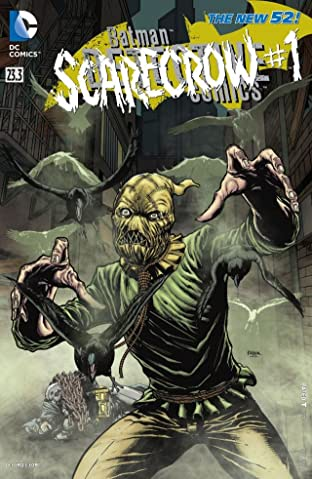 Detective Comics (2011-2016) No.23.3: Featuring Scarecrow