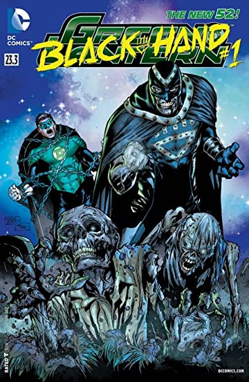 Green Lantern (2011-) #23.3: Featuring Black Hand