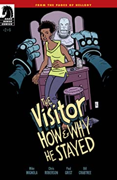 The Visitor: How and Why He Stayed #2