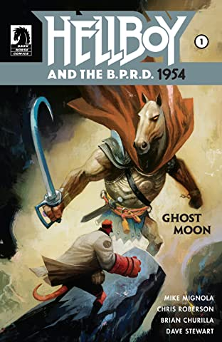 Hellboy and the B.P.R.D.: 1954 No.4: Ghost Moon: Part 1
