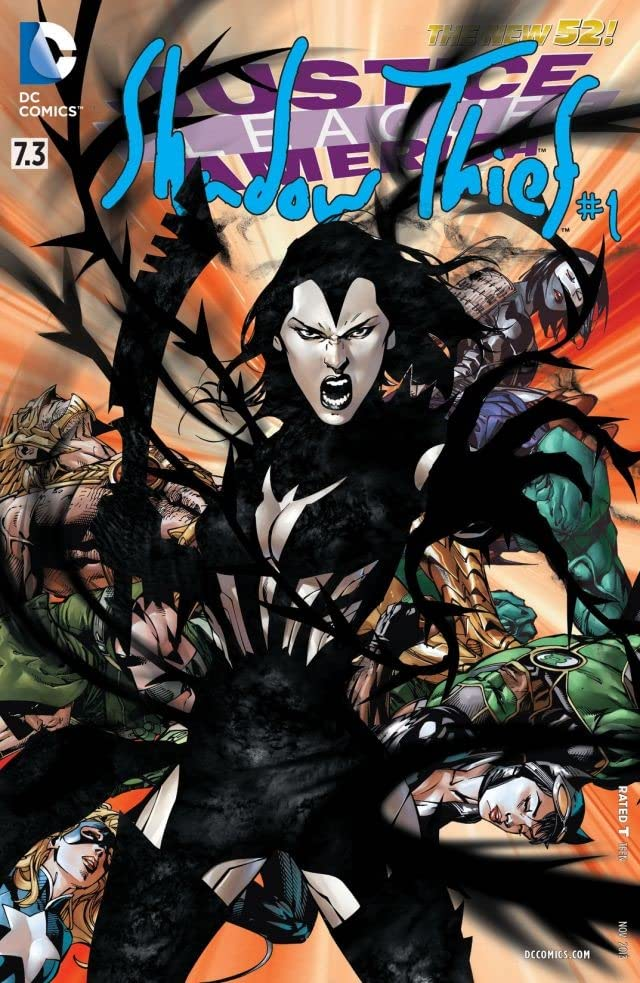 Justice League of America (2013-2015) #7.3: Featuring Shadow Thief