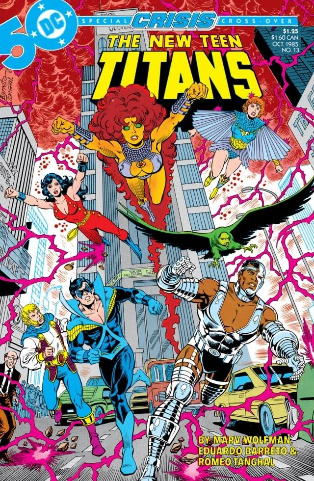 The New Teen Titans (1984-1996) #13