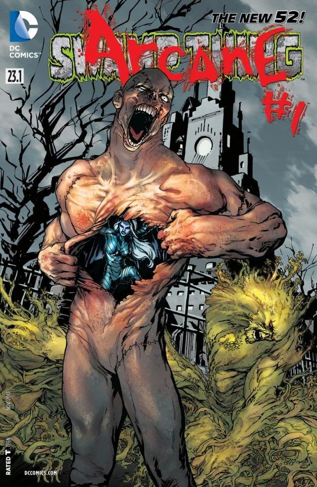 Swamp Thing (2011-2015) #23.1: Featuring Arcane