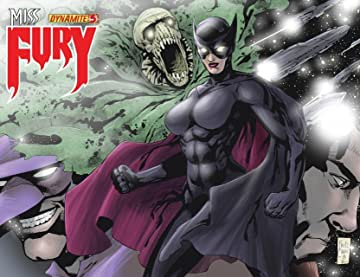 Miss Fury Digital #5
