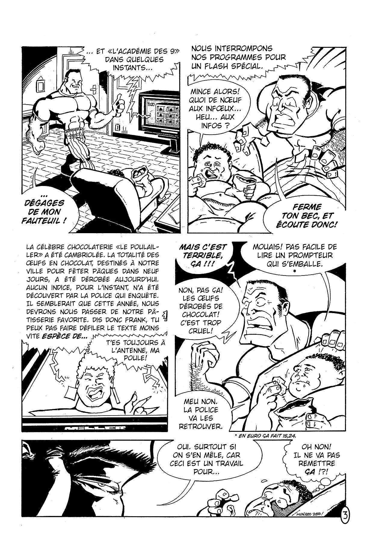Coq-Man & Poussin Vol. 1: Pâques Attack !