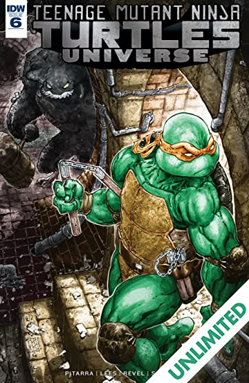 Teenage Mutant Ninja Turtles Universe #6