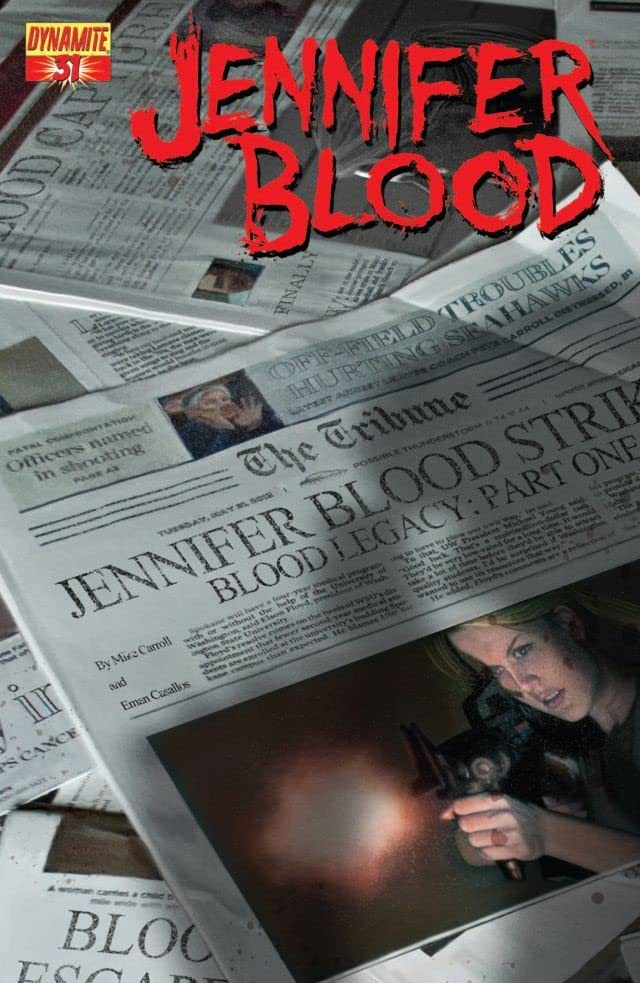 Garth Ennis' Jennifer Blood #31